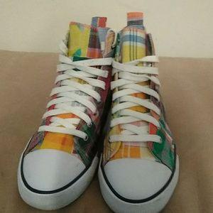 e84aaa60b6 Ralph Lauren Shoes - Ralph Lauren Polo tennis shoes size 4 and a half